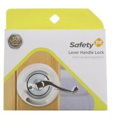 Safety 1st  Door Lever Handle Baby Proof Child Lock One Hand Use (lot Of 2)