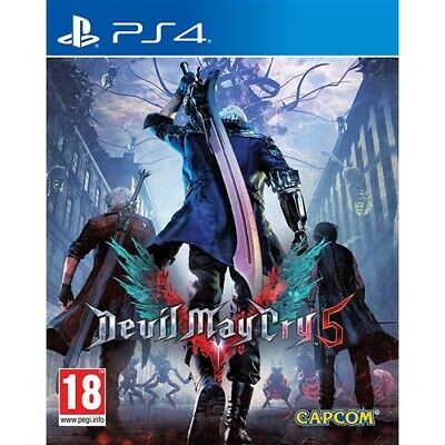 Devil May Cry 5 Ps4 - Nuovo -