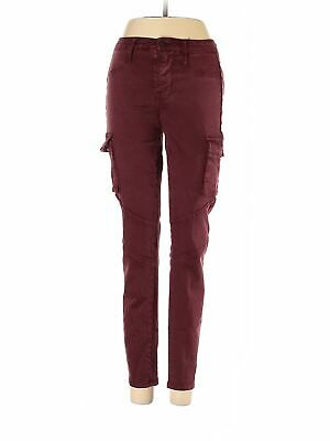 Mossimo Women Red Cargo Pants 2