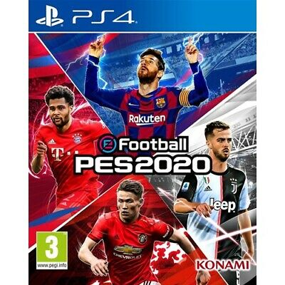 eFootball PES 2020 PS4 AU - NUOVO -