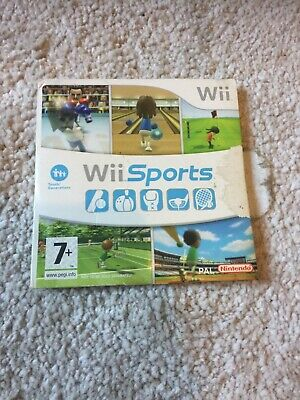 Wii Sports - Nintendo Wii / Wii U - Bowling,Tennis,Golf, Boxing - FAST FREE POST