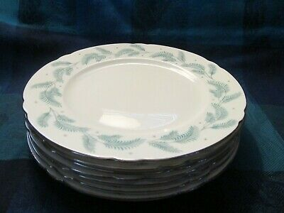 "Shelley, England, Bone China, Serenity Pattern #13791,  8"" Plate(S) -  Vgc"