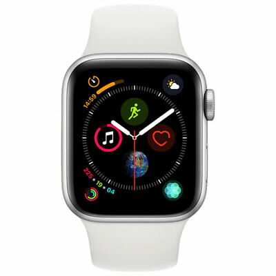 Apple iwatch series 4 (GPS+CELL.) 40 mm Silver With 3 Months Warranty