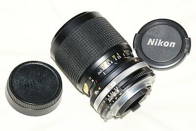 Nikon 35-105mm f3.5-4.5 AI-S Macro Zoom Lens  Excellent Condition