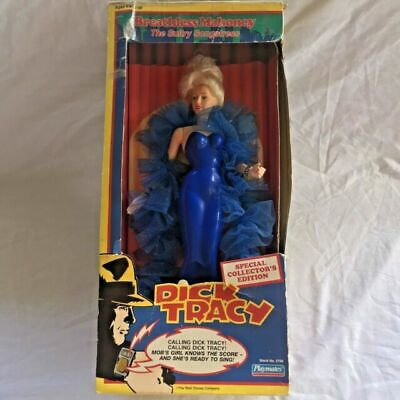 """Dick Tracy """"Breathless Mahoney"""" Sultry Songstress Madonna Doll w/ Microphone IOB"""