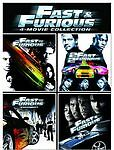 Fast And Furious 4-Movie Collection (DVD, 2009, 4-Disc Set)