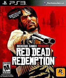 Red Dead Redemption (PlayStation 3, 2010) PS3 CIB Complete in Box