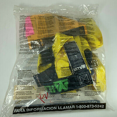 Miller 750/S/MYL Non Stretch Freedom Construction Harness Fall Protection New