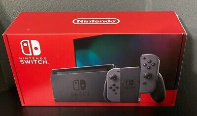Nintendo Switch Brand New HAC-001-01 32GB Console Gray Joy Con Expedited In Hand