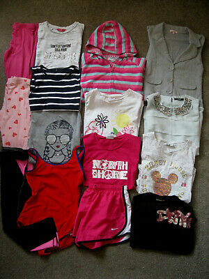 Girls Bundle,15 items,11-12yrs, Zara Girls, Peter Storm, DKNY, Nike,Disney.