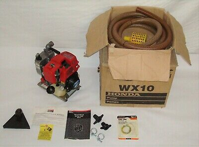 Honda WX10 General Purpose Water Transfer Pump 4-Stroke Engine 32 gal/min