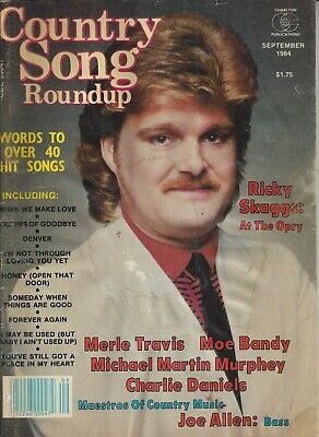 Country Song Roundup Vintage September 1984 Magazine Ricky Skaggs