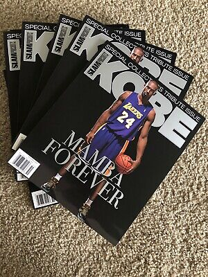 Slam Presents Special Collector's Issue 2020, Kobe Mamba Forever Brand New Espn