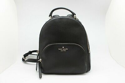 Kate Spade New York Jackson Medium Leather Backpack Black Size Medium