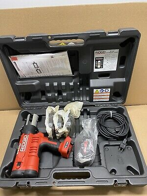 "Ridgid 43368 RP 340 Corded Press Tool Kit w/Jaws(1/2""-1"")"