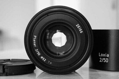 Carl Zeiss Loxia Planar T* 50mm F2 Lens Sony E Mount 2/50