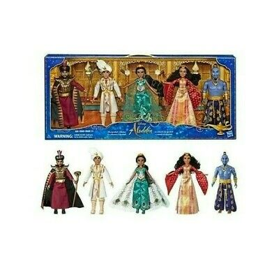 Disney Aladdin Agrabah Collection Collectible 5 Dolls 12'' Figurine Authentic
