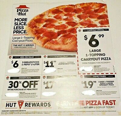 Pizza Hut Money Saving Frugal Deals Coupons Save Promo Codes Carryout Delivery