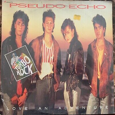 Pseudo Echo -Love An Adventure- 1987 Mexican Lp Still Sealed Plastic Open Synth