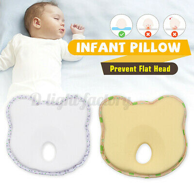 Memory Foam Baby Cot Soft Pillow Prevent Flat Head Cushion Sleeping  !