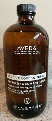AVEDA Professional Energizing Composition Oil ~ 16 oz. Glass ~ Body Bath Scalp