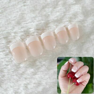 French False Nails Acrylic Classic Full Artificial Press On Nail Decorations Set