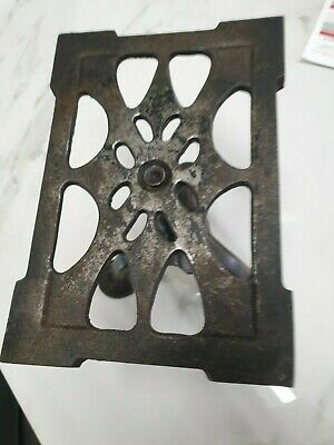 antique iron adjustable height fire side  TRIVET
