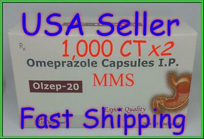**SHIPPING TODAY** Omeprazole 50 ct Capsules Heartburn Acid Reducer OTC *20mg*