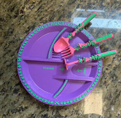 Constructive Eating And Utensils Garden Fairy Used