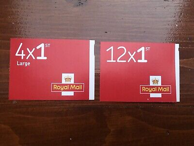 Royal Mail 12 x 1st class  and 4 Large letter stamps