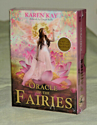 **NEW & SEALED** Oracle of the Fairies card deck and guidebook - Karen Kay