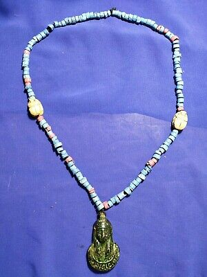 Pharaonic necklace is very rare ancient Egypt civilization.  2