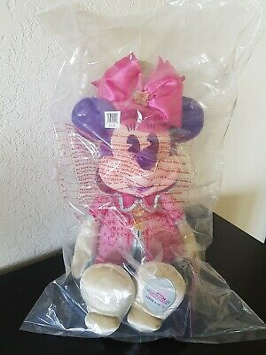 Disney MINNIE MOUSE Main Attraction MAD TEA PARTY Plush Limited Release SEALED