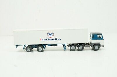 """Wiking 526 Scania 111 Containersattelzug WICL/"""" OVP"""