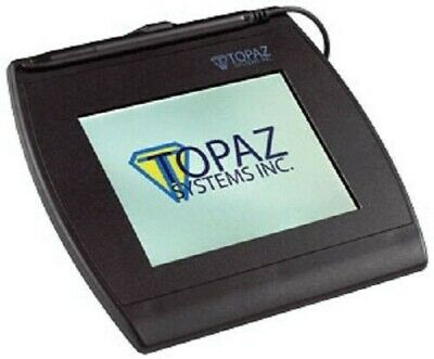 Topaz T-LBK57GC-BHSB-R SignatureGem Color 5.7 Signature Capture Pad