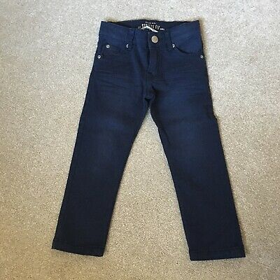 Boys H&M Skinny Fit Navy Chino Jeans - Age 1.5-2 Years