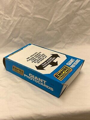 1980 TOPPS EMPIRE STRIKES BACK GIANT PHOTO CARDS UNOPENED 36 Wax PACKS Wax Box