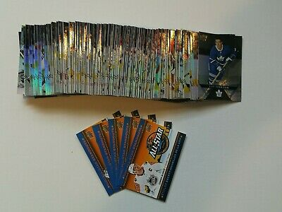 2018-19 Upper Deck Tim Hortons Complete Set (1-120) With All star Standouts (1-5