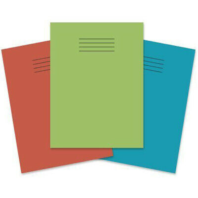 A5 School Exercise Books Lined / Ruled / Squared SILVINE RHINO 80 Page Notebook