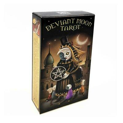 Deviant Moon Tarot Deck 78 Cards Divination Prophet Cards