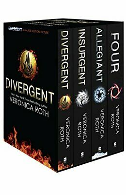 Divergent Series Box Set (books 1-4 plus World of Divergent) by Roth, Veronica