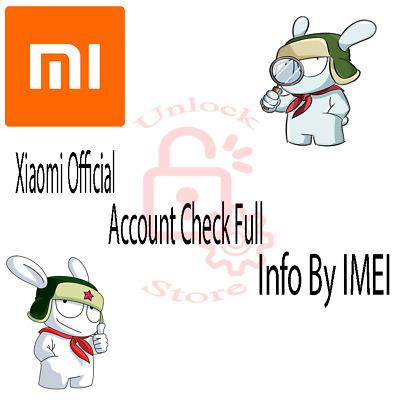 Xiaomi Official Account Check Full Info By IMEI