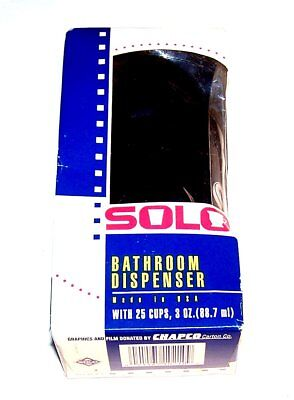 Vintage 90's Chicago White Sox Solo Cup Logo Dispenser Ex Tickets Cubs Bulls Ofr