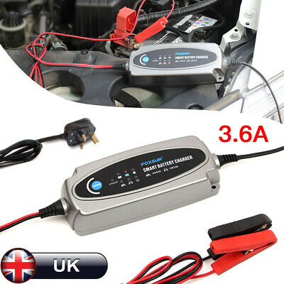 For C Multi MXS 3.8 / 5.0 12V SMART Fully Automatic Battery Charger UK PLUG