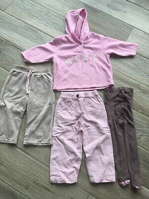 Girls 9-12 Months Clothes Bundle, Trousers, Tights, Jumper Including Next