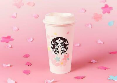 Starbucks Japan Sakura 2020 Reusable Cup Limited Cherry Blossoms 473ml