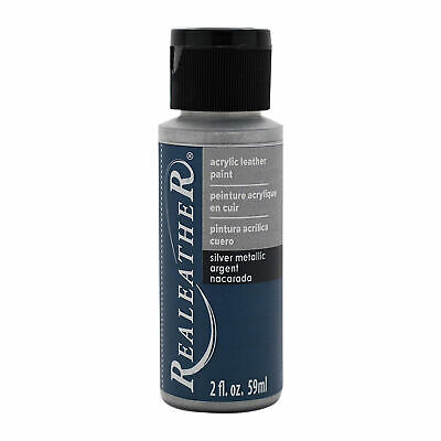 Acrylic Leather Paint - Silver