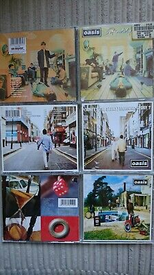 Oasis - Cd Album X3 (1994-97) Definitely Maybe, Morning Glory?, Be Here Now