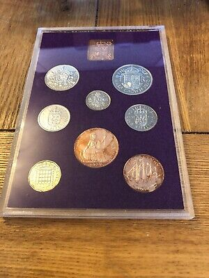 1970 Coinage Of Great Britain And Northern Ireland Proof Coin Set Box