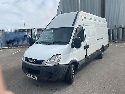2012 IVECO DAILY 35s13 2.3L LWB EXTRA LONG WHEEL HIGH TOP NO VAT
